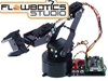 Lynxmotion AL5B 4 Degrees of Freedom Robotic Arm Combo Kit (FlowBotics Studio w/ SSC-32U)