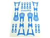 Crazy2Fly Blue Sticker Kit