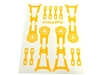 Crazy2Fly Yellow Sticker Kit