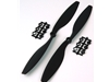 10x4.5 - Black Carbon+Nylon Propeller (Pair)