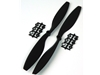 10x4.5 - Black ABS Propeller (Pair)