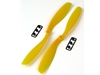 8x4.5 - Yellow ABS Propeller (Pair)