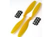 10x4.5 - Yellow ABS Propeller (Pair)