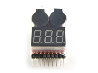 Universal Battery Voltage Monitor