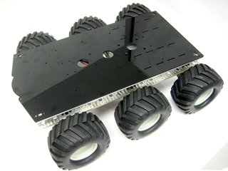 Aluminum A6WD2 Rover Kit No Electronics