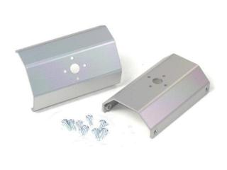 "Alum Chassis Bracket - 3"" (pair) (Clear Anodized)"