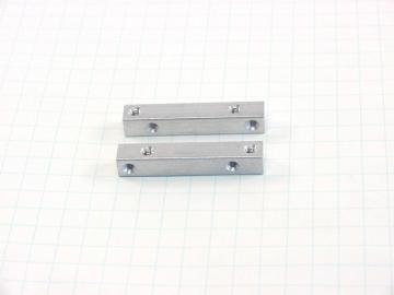 "Aluminum Square Bars - 1.5"" x 1/4"""