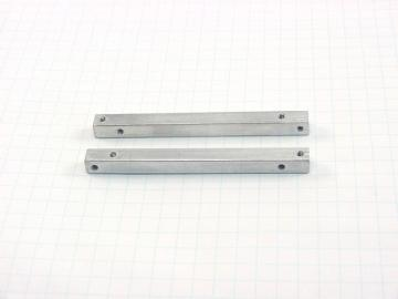 "Aluminum Square Bars - 3.0"" x 1/4"""