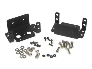 Aluminum Inline Multi-Purpose Servo Bracket Two Pack