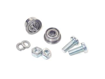 Ball Bearing with Flange - 3mm ID (pair)
