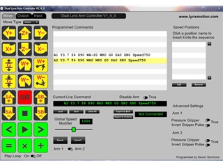 FREE Download - Lynx Dual Arm Controller
