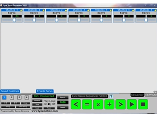 FREE Download - Lynx Servo Sequencer
