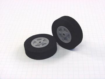 "Neoprene Foam Tire - 1.75""D x 0.5""W (pair)"