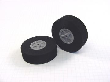 "Neoprene Foam Tire - 2.5""D x 0.75""W (pair)"