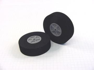 "Neoprene Foam Tire - 2.75""D x 0.75""W (pair)"