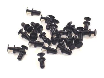 Nylon Snap Rivet Fasteners (25)