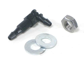 Vacuum Gripper Bulkhead Elbow Fitting