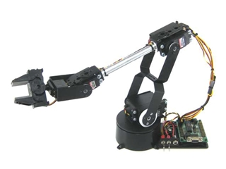 AL5D Robotic Arm Combo Kit (BotBoarduino)